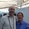 Participants in the 2016 international GIS conference included David Evans and Peggy McKillip.