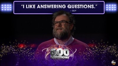 "WKU faculty member Guy Jordan was featured in several social media posts about ABC's ""500 Questions."""