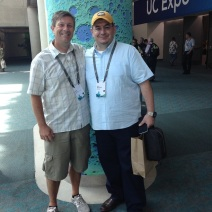 Participants in the 2016 international GIS conference included Kevin Cary and Sami Almudaris.