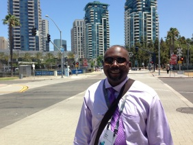 Participants in the 2016 international GIS conference included Lamar Coats.