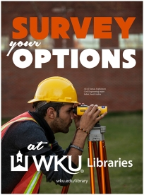 The WKU Libraries campaign featured students from different colleges and disciplines.