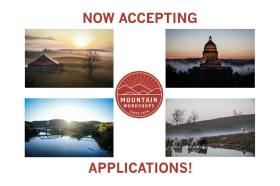 Applications are being accepted for the 2016 Mountain Workshops Oct. 18-22 in Paducah.