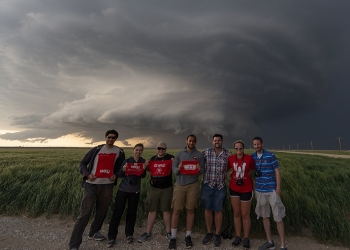 Storm Chase class among 'real world'...