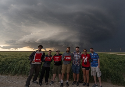Participants in the 2016 WKU Storm Chase class traveled 7,002 miles across 12 states and documented at least 12 tornado touchdowns.