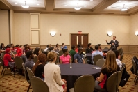 International student reception was held Aug. 17.