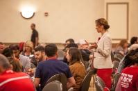International student reception was held Aug. 17.