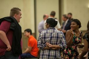 Graduate student reception was held Aug. 18.