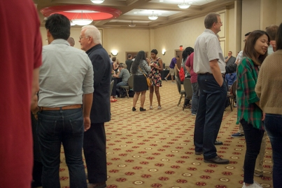 Graduate student reception was held Aug. 18.