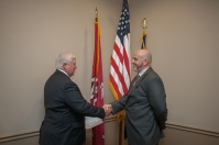 New Regent Jason McKinney was sworn in on Aug. 19.