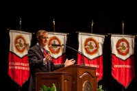 The President's Opening Convocation was held Aug. 19.