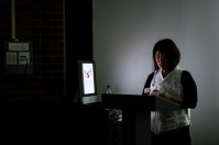 Wonju Seo visited WKU as part of the International Year of South Korea.