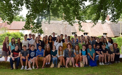 Forty-eight Gatton Academy students participated in a three-week study abroad program in the United Kingdom during the summer of 2016. (Photo by Tori Hampton)