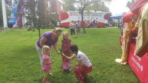 The Confucius Institute at WKU participated in the Owensboro Multicultural Festival on Aug. 20. The CI at WKU will participate in other Confucius Day events during September.