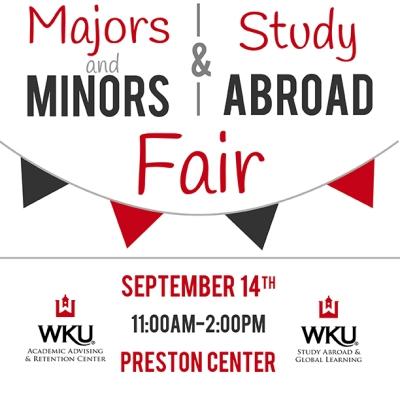 majors minors study abroad fair