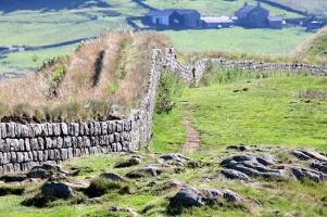 Hadrian's Wall is an important political and military marker on the northern landscape and provides context for the geopolitical struggles of the early Roman period in Britain.