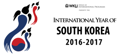 WKU is celebrating the International Year of South Korea during the 2016-17 academic year.
