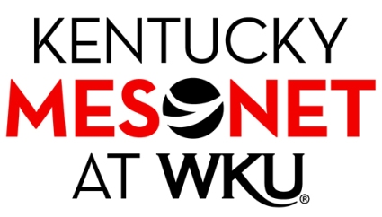 The new logo for the Kentucky Mesonet at WKU will be added soon to the statewide network's website.