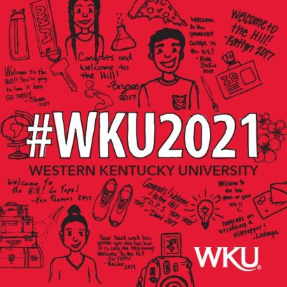 The application for WKU's Class of 2021 is available online at www.wku.edu/apply.
