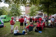 Pregame activities for WKU vs. Rice on Sept. 1.