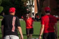 Pregame activities for WKU vs. Rice on Sept. 1.