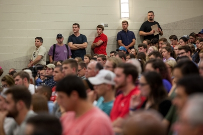 Steve Forbes presented a lecture at WKU on Sept. 8.