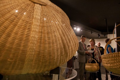 """Standing the Test of Time: Kentucky's White Oak Basket Tradition"" opened Sept. 16 at the Kentucky Museum."