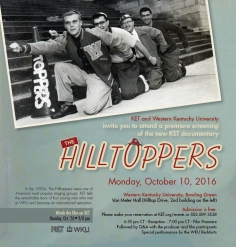 KET and WKU will host a screening of 'The Hilltoppers' on Oct. 10.