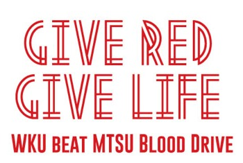 Give Red, Give Life in WKU vs. MTSU bloo...