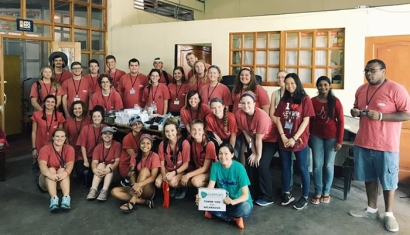 Members of WKU's Global Brigades Chapter participated in a trip to Nicaragua in August.