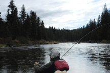 Scenes from WKU Fly Fishing course in Montana.