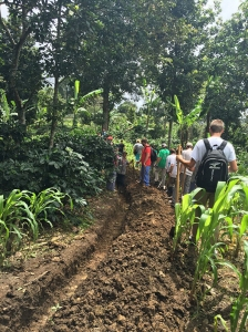 Members of WKU's Global Brigades Chapter worked on several projects in Nicaragua.