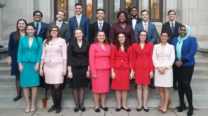 WKU Forensics Team was crowned sweepstakes winner at both tournaments in the Seventy-Four Swing.