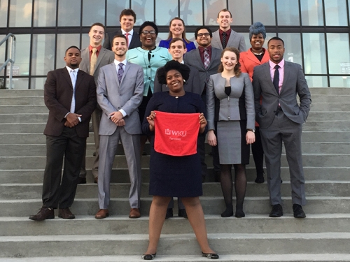 Members of the WKU Forensics Team competed in six tournaments Oct. 15-16.
