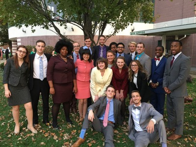 "WKU Forensics Team was tripled-crowned team debate sweepstakes champion, team individual events sweepstakes champion and team combined sweepstakes champion at the Marshall University ""Chief Justice"" Tournament."