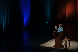 Anne Lamott opened the 2016-17 Cultural Enhancement Series on Sept. 27.