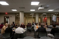 The Intercultural Student Engagement Center hosted a breakfast on Sept. 29.
