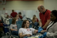 The WKU vs. MTSU blood drive was held Oct. 10-12. WKU won the 2016 event.