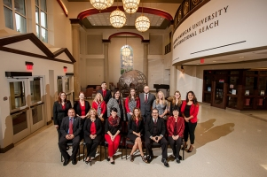 International Enrollment Management staff members
