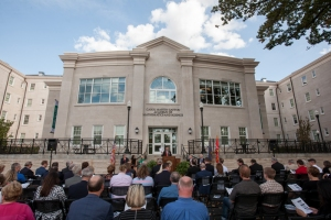WKU President Gary A. Ransdell discussed the importance of The Gatton Academy. (WKU photo by Clinton Lewis)
