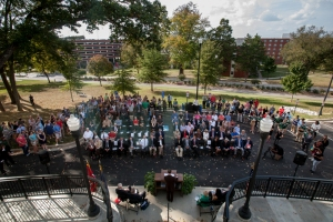 The Gatton Academy celebrated its expansion with a ceremony on Oct. 19. (WKU photo by Clinton Lewis)