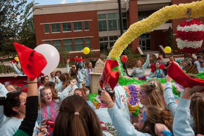 The Homecoming Parade was held Oct. 21.