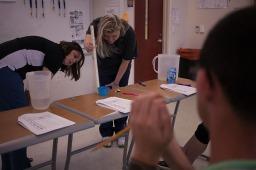 WKU graduate Stacie Hutchison teaches at Glasgow High School.