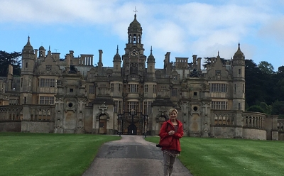 Dr. Lisa Murley recently visited Harlaxton College in Grantham, England.