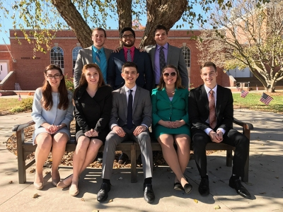 Members of the WKU Forensics Team competed Nov. 12-13 at McKendree University.