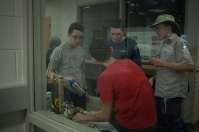 WKU Engineering hosted the annual Kentucky Bluegrass High School Robotics Competition on Nov. 5.