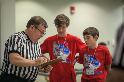 The FIRST LEGO League qualifying tournament was held Nov. 12.