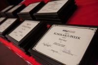 The 2016-2017 Scholar of the Week reception was held Dec. 6.