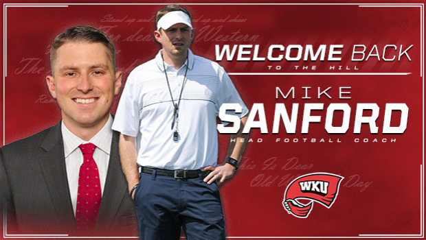 W. Kentucky hires Notre Dame assistant Mike Sanford as coach