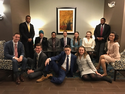 The WKU Forensics Team competed in three weekend tournaments and qualified several more students for national tournaments.