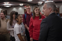 Dr. Timothy C. Caboni visited WKU for a series of meetings Jan. 25-26.
